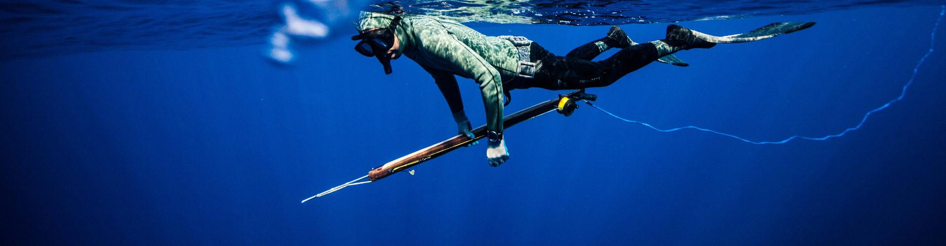 trajes de pesca submarina